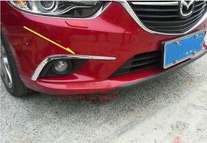 NEU Nebelscheinwerfer Abdeckung Chrom Mazda 6 ab 2013 B