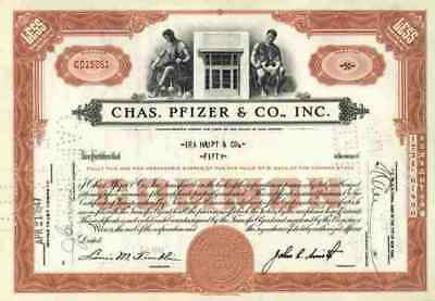 Pfizer & Co. 1947 New York Illertissen Freiburg Karlsruhe Gödecke Warner Lambert