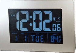 Exclusive Atomic 1.75 Display LCD AC/DC Desk/Wall Clock