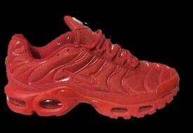 BNIB Red Nike Air TN Tuned Trainers Size 7 - 10