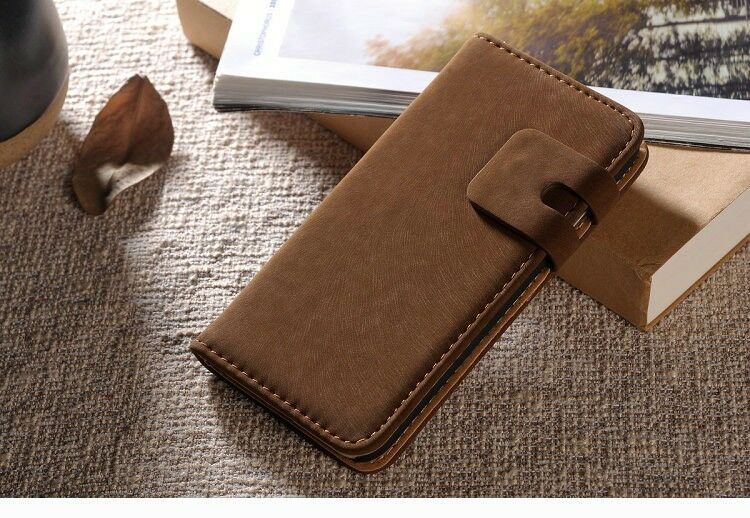 """catch case New! Brown,Beige,Black, Suede Leather Wallet Stand Case For iPhone 6 (4.7"""") at Sears.com"""
