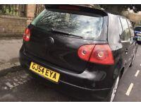 VW Golf 1.9 SDi 2004 Black 12 MONTHS MOT £1200