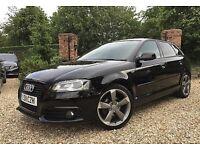 Audi A3 Black Edition 140 bhp S-Tronic