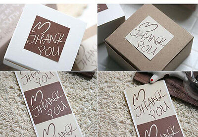 56 Pcs Thank You Stickers Labels Seals Greeting Wedding Party And Gifts