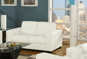"""Big SALE ""Brand New Bonded Leather Loveseat"