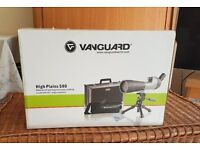 Vanguard High Plains 580, Spotting Scope (Bird Watching or Outdoor Shooting and Hunting Telescope)