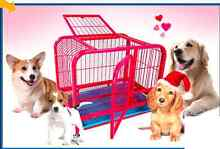 Brand new strong steel dog / cat animal cage kennel with tra Salisbury South Salisbury Area Preview