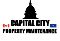 CAPITAL CITY PROPERTY MAINTENANCE SPRING CLEAN UP LAWN CARE 780-