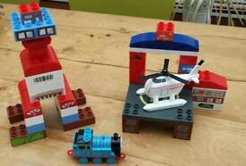 Thomas's mega block harrold the helicopter