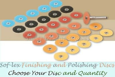 Soflex Finishing And Polishing Discs -pack Of 85- All Sizes Available By 3m Espe