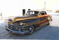 1946 Chrysler Town & Country Woody Convertible