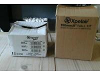 Xpelair kitchen fan and Xpelair wall kit