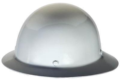 Msa Safety Works 475408 White Skullgard Hard Hat Fast Trac Suspension Full Brim