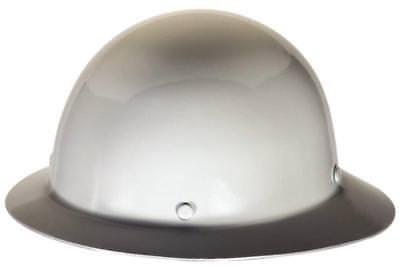 New Msa Safety Works 475408 Skullgard Hard Hat Fast-trac Suspension Full Brim