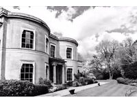 Stunning Grade II Listed manor house offers contemporary, completely unbranded office space.