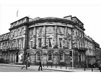 This prominent period building provides stylish offices, and retains features such as sash windows.