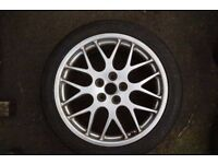 """Set of 5 18"""" BBS Alloys - Suitable for Jaguar Ford and other makes"""