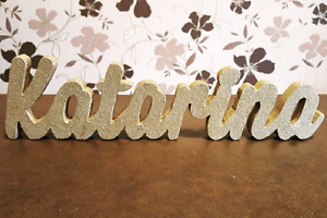 Custom made wooden names wooden signs