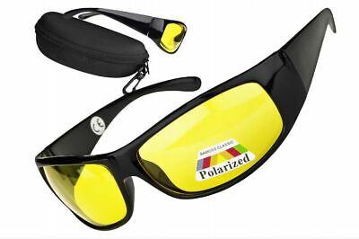 Sonnenbrillen gelbe Brille Nachtfahrbrille Nachtsichtbrille Nachtbrille Fahren &