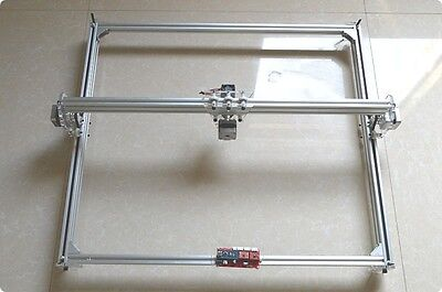 Diy Desktop Cnc Laser Engraver 5500mw Usb Engraving Machine Wood Cutter 65x50cm