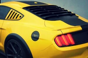 Ford Mustang CV EURO Rear Window Louver