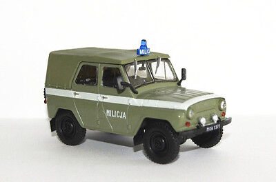 UAZ 469 MO - 1/43 - DeAgostini - Cult Cars of PRL 'S' for sale  Poland