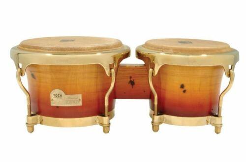 Toca Limited Edition Bongos Bongo Drums Burnished Model 4801BM SALE PRICE!