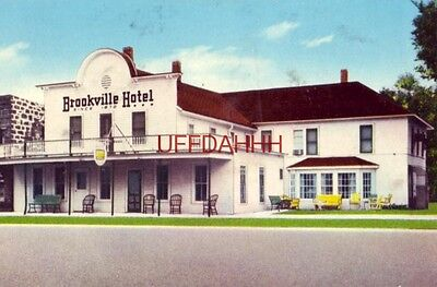 BROOKVILLE HOTEL, Brookville, KS Mrs Helen Martin, Prop. Nationally famous