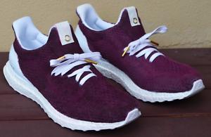 New Adidas Ultra Boost Burgundy Custom Sneakers US 11 Bundall Gold Coast City Preview