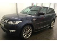 Land Rover Range Rover Sport FROM £210 PER WEEK!