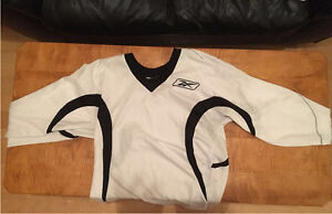 Two Reebok Practice Jerseys for Sale (White and Black)