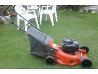 Flymo lawnmower rotary petrol