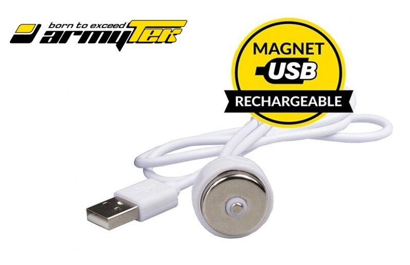 ✔️ New Armytek Magnet USB Charging Cable For Wizard, Wizard Pro, Tiara, Prime ? купить