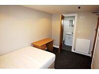 Just refurbished en-suite bedrooms in house on Bedford Street, Cardiff