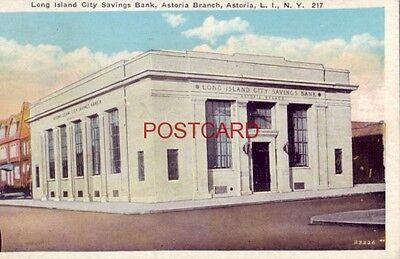 1932 Long Island City Savings Bank  Astoria Branch  N Y