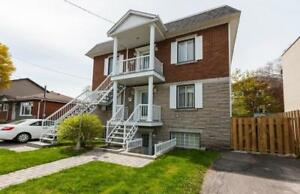 5 1/2 , renovated, A/C, Longueuil, close to metro