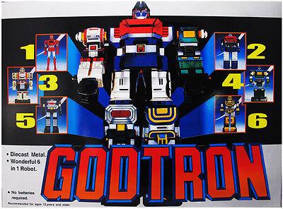 Chogokin Voltron 1980 Six God Combination Godmars Figure Die-cast - Godtron