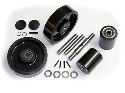 Wesco 272748 Pallet Jack Complete Wheel Kit