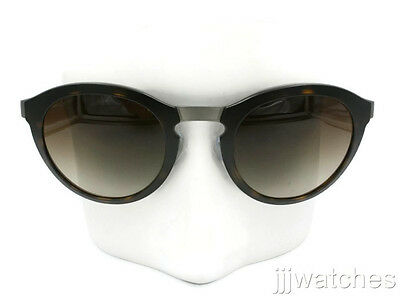 0254025cb4ce New Giorgio Armani Brown Gunmetal Round Women Sunglasses AR6009 303213 49   330
