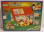 LEGO - System - 1854 - House with Roof-Windows ( Velux ) -