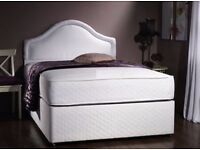 """❤Same Day Free Delivery❤1 Year Grntee❤ New Double / King Divan Bed w 13"""" 1000 Pocket Sprung Mattress"""