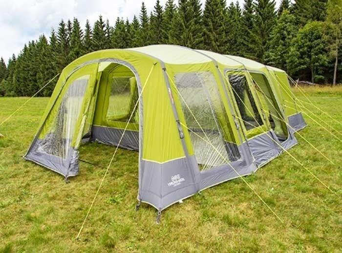 what winds can vango verona tent handle