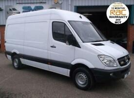 2010 MERCEDES-BENZ SPRINTER MWB 313CDI WORKSHOP VAN WITH PTO AND AIR COMPRESSOR