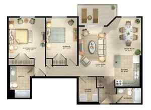 Short Term Lease - Two Bedroom at 600 ProudfootLane