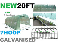 POLYTUNNEL 20FT X 10FT FULLY GALVANISED FRAME (ONLY 5 LEFT)