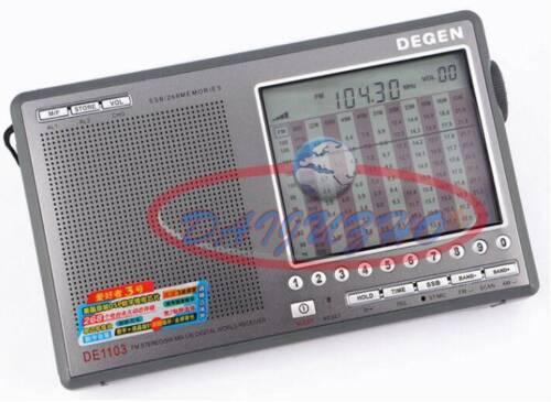 New DSP Radio Receiver FM / MW AM / SW / LW / SSB World Band