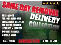 Man with a van cheap service removal delivery waste rubbish collection