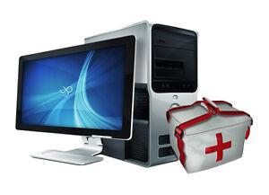 Services d'entretien d'ordinateurs