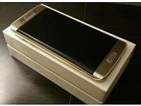 SAMSUNG S6 EDGE GOLD - BRAND NEW
