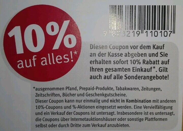 18 Stück 10% Original Rossmann Rabatt Coupons Gutschein bis 31.12.2019 Dez.